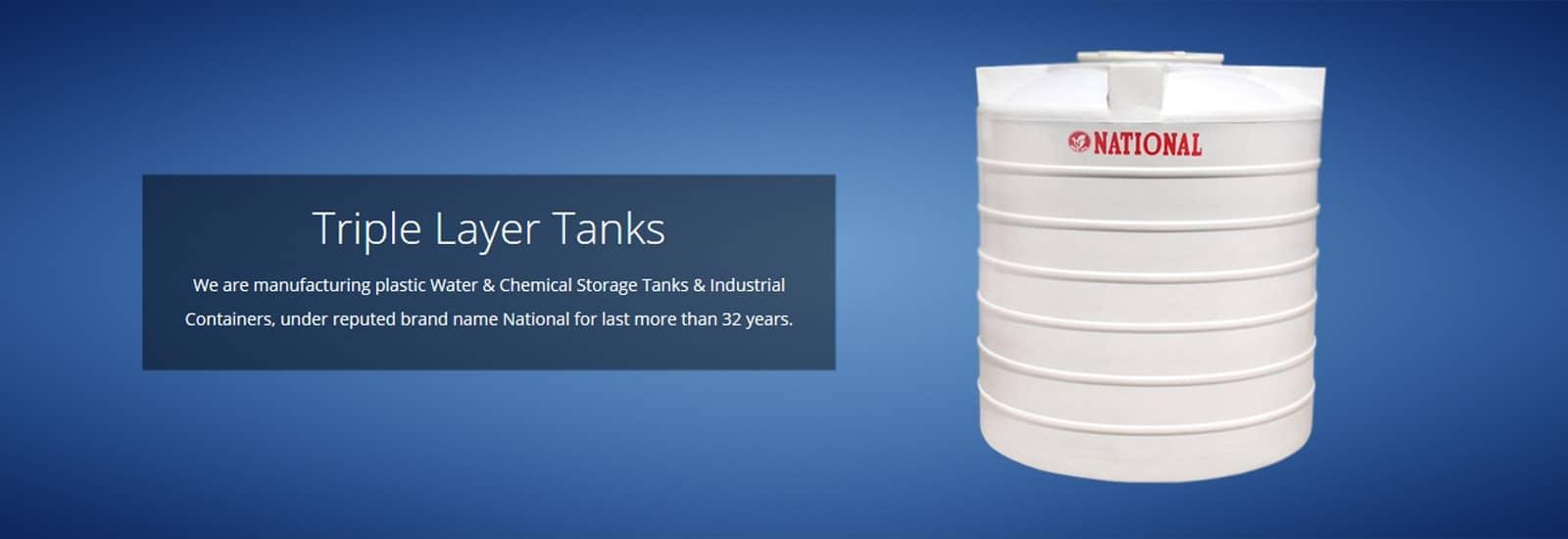 Triple Layer Tanks